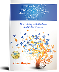 there's something about gina, gina meagher, author, book cover, buy on amazon