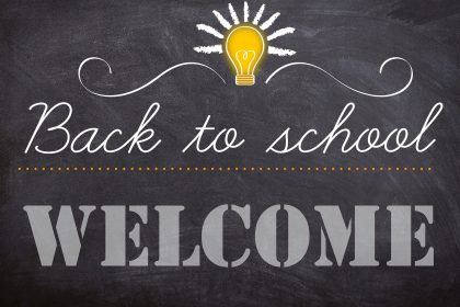 School is underway